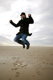 Jumping man Stock Photography