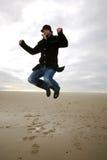 Jumping man Stock Photography