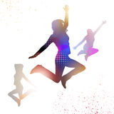 Jumping People Stock Images