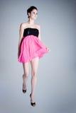 Jumping princess royalty free stock photography