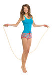 Jumping Rope Royalty Free Stock Photo