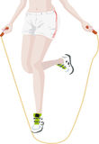 Jumping Rope Stock Photography