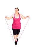 Jumping rope Stock Photos