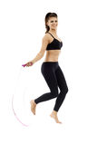 Jumping rope Royalty Free Stock Photography