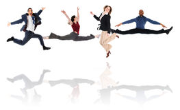 Free Jumping Team Stock Photos - 5458573