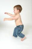 Jumping and walking Stock Image