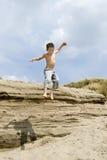 jumpingboy Στοκ φωτογραφία με δικαίωμα ελεύθερης χρήσης