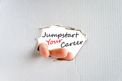 Jumpstart Your Career Concept Royalty Free Stock Images