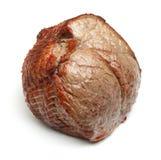 Junção da carne do Topside da carne assada isolada imagem de stock royalty free