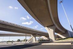 Junção da estrada da estrada Imagem de Stock