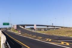 Junção da estrada da estrada Imagens de Stock