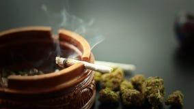 Junção da marijuana que queima 2
