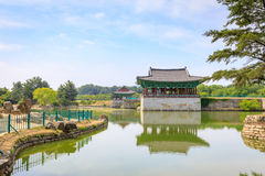 Jun 22, 2017 Donggung pałac i Wolji staw w Gyeongju, południe K Obrazy Royalty Free