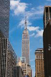 Jun 22, 2017, Empire State Building view from Penn Station, New. York, USA Stock Images