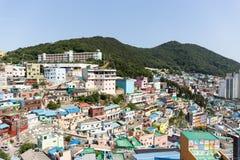 Jun 3, 2017 - At Gamcheon Culture Village Busan South Korea Stock Photography