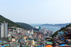 Jun 3, 2017 - At Gamcheon Culture Village Busan South Korea Royalty Free Stock Photography