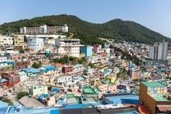 Jun 3, 2017 - At Gamcheon Culture Village Busan South Korea Royalty Free Stock Photo