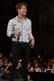 Jun.K (Band 2PM) am Festival menschliche Kultur EquilibriumConcert Korea in Vietnam lizenzfreie stockfotos