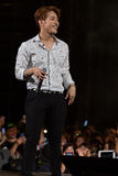 Jun.K (2PM band) at the Human Culture EquilibriumConcert Korea Festival in Viet Nam Royalty Free Stock Photos
