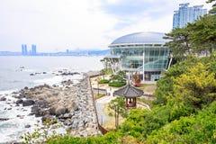 Jun 21, 2017 Nurimaru APEC lokalizuje na DongbaekseomIsland Fotografia Stock