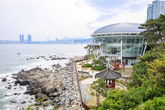 Jun 21, 2017 Nurimaru APEC lokalizuje na DongbaekseomIsland Fotografia Royalty Free