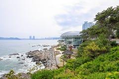Jun 21, 2017 Nurimaru APEC lokalizuje na DongbaekseomIsland Zdjęcia Royalty Free