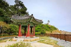 Jun 21, 2017 Pavilion at the garden of Nurimaru APEC House. The Stock Image