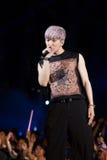 Jun przy Ludzkiej kultury EquilibriumConcert Korea festiwalem w Wietnam Ho (2PM zespół) Obraz Stock