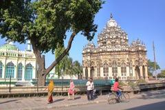JUNAGADH, GUJARAT, INDIA - DECEMBER 31, 2013: Het Mausoleum van Mahabatmaqbara Royalty-vrije Stock Afbeelding