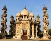 Junagadh stad i Gujarat royaltyfri bild