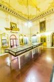 在比卡内尔武装在Junagarh堡垒里面的博物馆 免版税库存照片