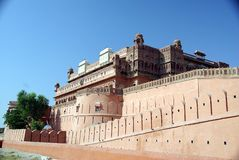 Junagarh fort in Bikaner Royalty Free Stock Images