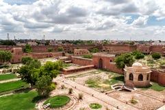 Junagarh fort, Bikaner, Indien arkivbilder