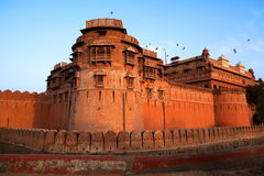 Junagarh Fort india Royalty Free Stock Image