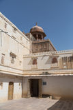 Junagarh fort, Indien royaltyfri fotografi