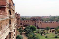 Junagarh ogródy i fort Zdjęcie Stock