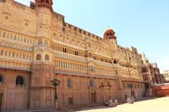 Junagarh red fort bikaner rajasthan india Stock Image