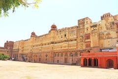 Junagarh red Fort Bikaner rajasthan india Royalty Free Stock Images