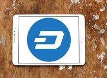 Junakowania cryptocurrency logo Fotografia Royalty Free