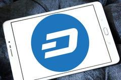 Junakowania cryptocurrency logo Zdjęcia Stock