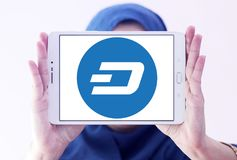 Junakowania cryptocurrency logo Obraz Royalty Free