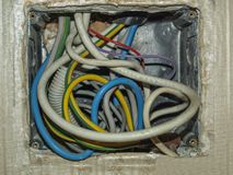 Junction Box Stock Image