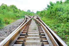 Junction railway Stock Photography