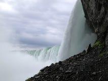 Underside of Horseshoe Falls Royalty Free Stock Image