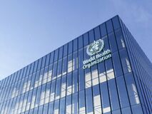Free June 15, 2020, Editorial Use Only, 3D CGI. World Health Organization Signage Logo On Top Of Glass Building. Workplace In High-rise Stock Images - 187099594