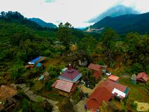 Free June 8th Indonesia -- Fairy Tales Village Above The Mountain Became A Tourist Favourite Place To Visit Stock Photo - 184951540