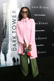 June Ambrose. NEW YORK-JUL 31: June Ambrose attends `The Dark Tower` special screening at the Museum of Modern Art on July 31, 2017 in New York City Royalty Free Stock Image