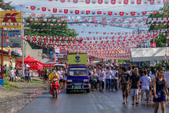 June 24, 2017  at Balayan Parada ng Lechon 2017, Batangas , Phil Royalty Free Stock Image