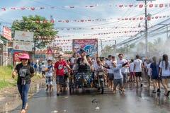 June 24, 2017  at Balayan Parada ng Lechon 2017, Batangas , Phil Royalty Free Stock Photography