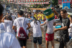 June 24, 2017  at Balayan Parada ng Lechon 2017, Batangas , Phil Royalty Free Stock Photos
